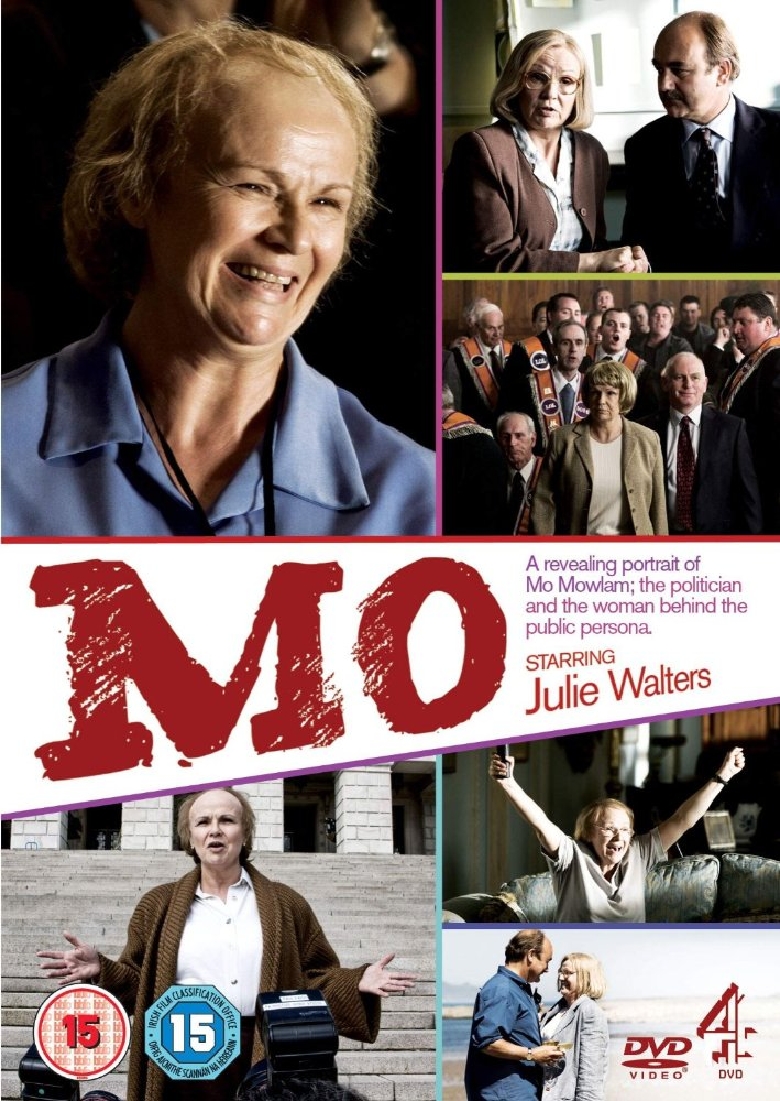 """Mo"" Mo Mowlam 100min Feature Length Drama. ITV Studios Channel4. Starring Julie Walters. Directed by Philip Martin, Produced by Lisa Gilchrist"