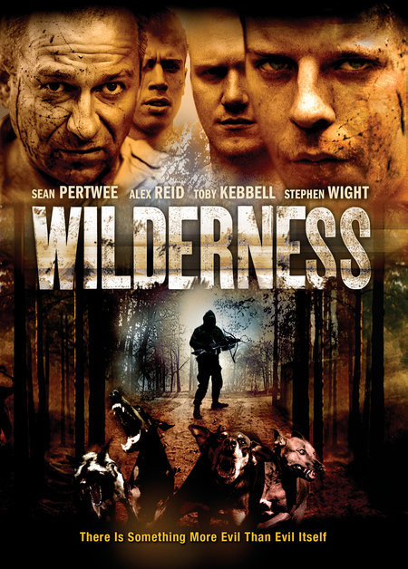 """Wilderness""  Feature Film  Ecosse Films Starring Sean Pertwee, Toby Kebbell, Alex Reid. Directed by Michael J Bassett. Produced by Robert Bernstein, Douglas Rae and John McDonnell. (c) http://www.ecossefilms.com/"